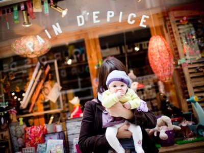 Photographe bébé Paris - Séance à domicile